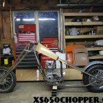 XS650 Chopper Project For Sale