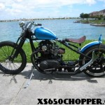 82 XS650 Bobber built by Chandler Originals