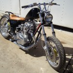 xs650 chopper with a dropseat