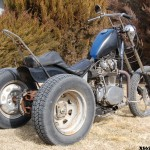 3 wheel goodness Larrys 6FIFTY chopped xs trike