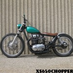 Justin's bratstyle xs650 bobber