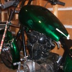 xs 650 with ultima 250 softail frame