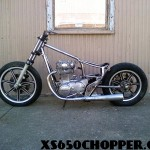Metalhead's brat to be (the ol' ladies bike)