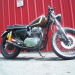 Xs650 British style Cafe For sale