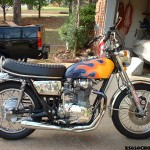 Blue Youngblood 1972 xs650