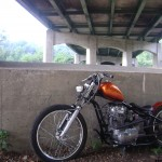 willie's Tangerine 1975 XS Chopper