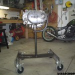 XS 650 Roller Engine Stand