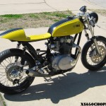 XS650 Cafe - 'The Beast MK2' from the Limey