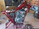 1973 xs650 chopper build