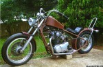 Ron Rhodes yamaha xs 650 chopper project