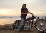 """Red Batik"" XS650 '73, My Dream Come True"