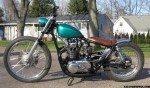 For sale - bratstyle xs650 bobber