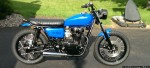 Black and Blue XS650