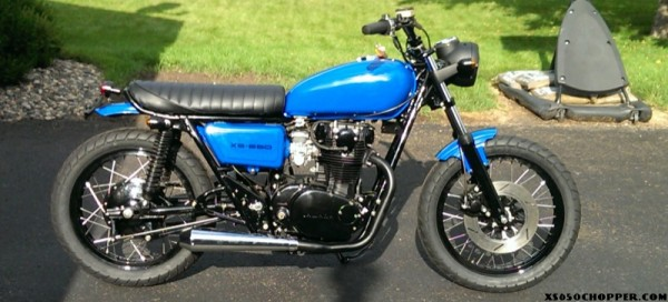 Black and Blue XS650-2 2014
