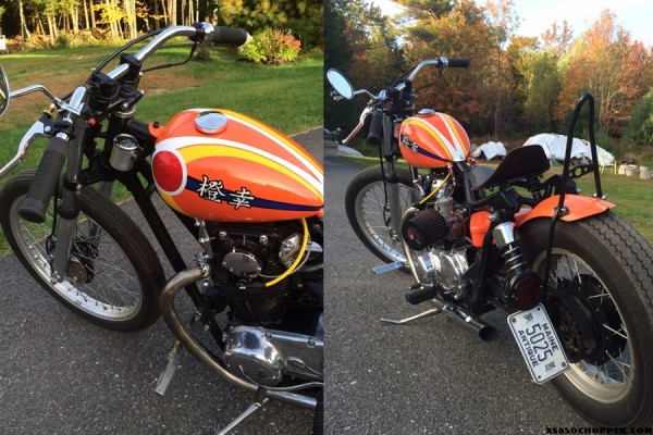 Jed's Orange Happiness - xs650