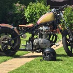 My Martin Welsby built XS650