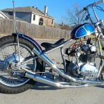 Chris's 650 Chopper