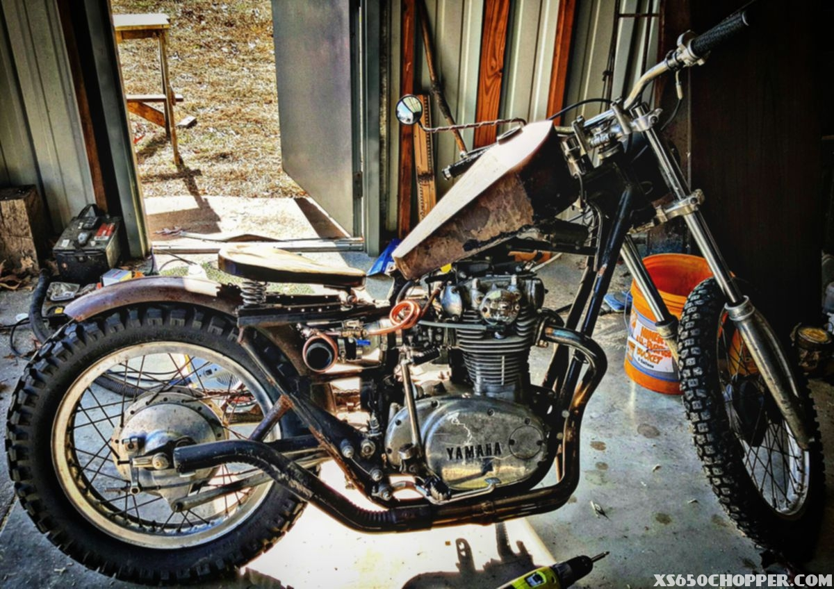 Kyle Vincent's Ratio xs650
