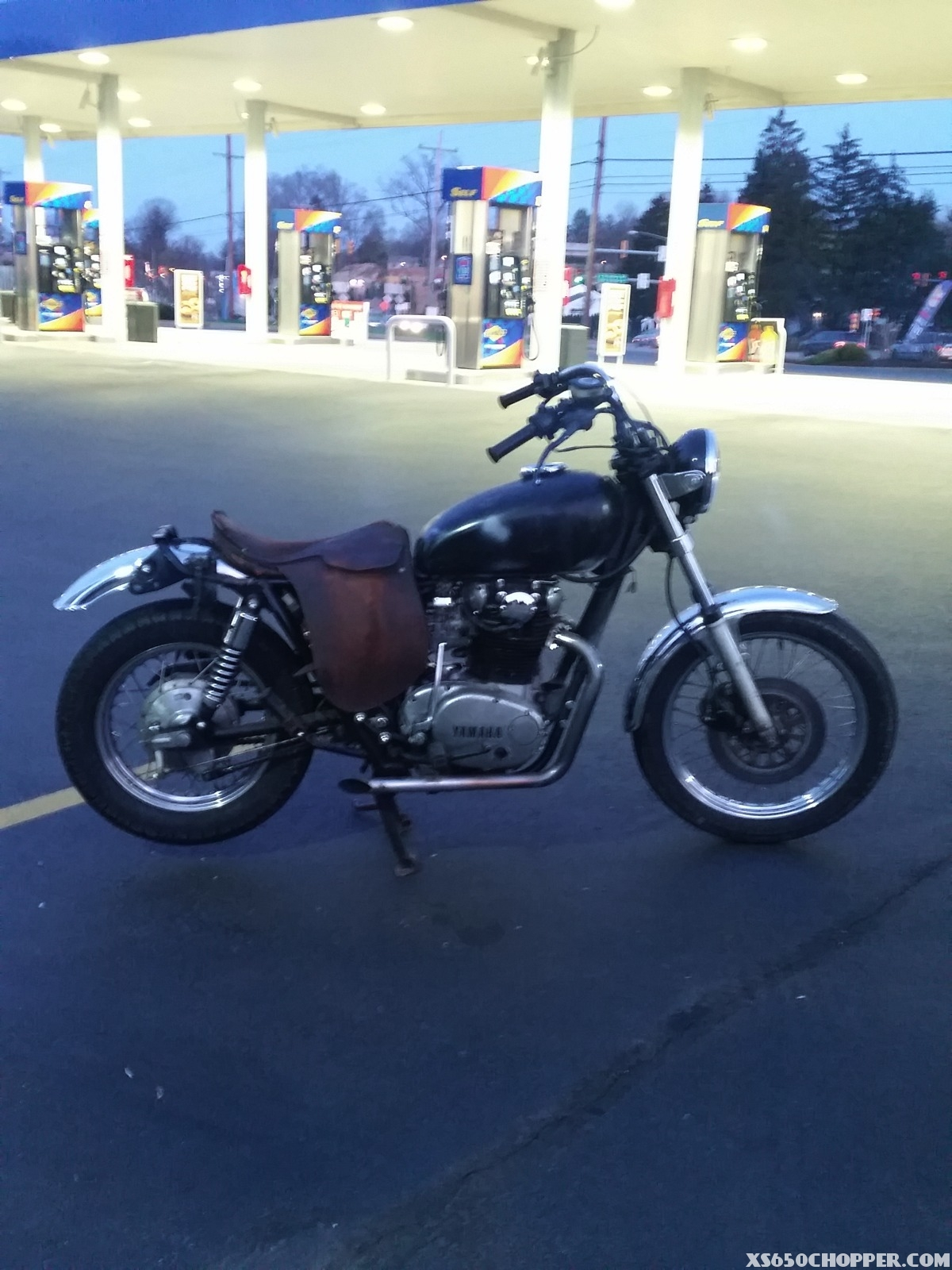 1973 xs650s Work in Progress