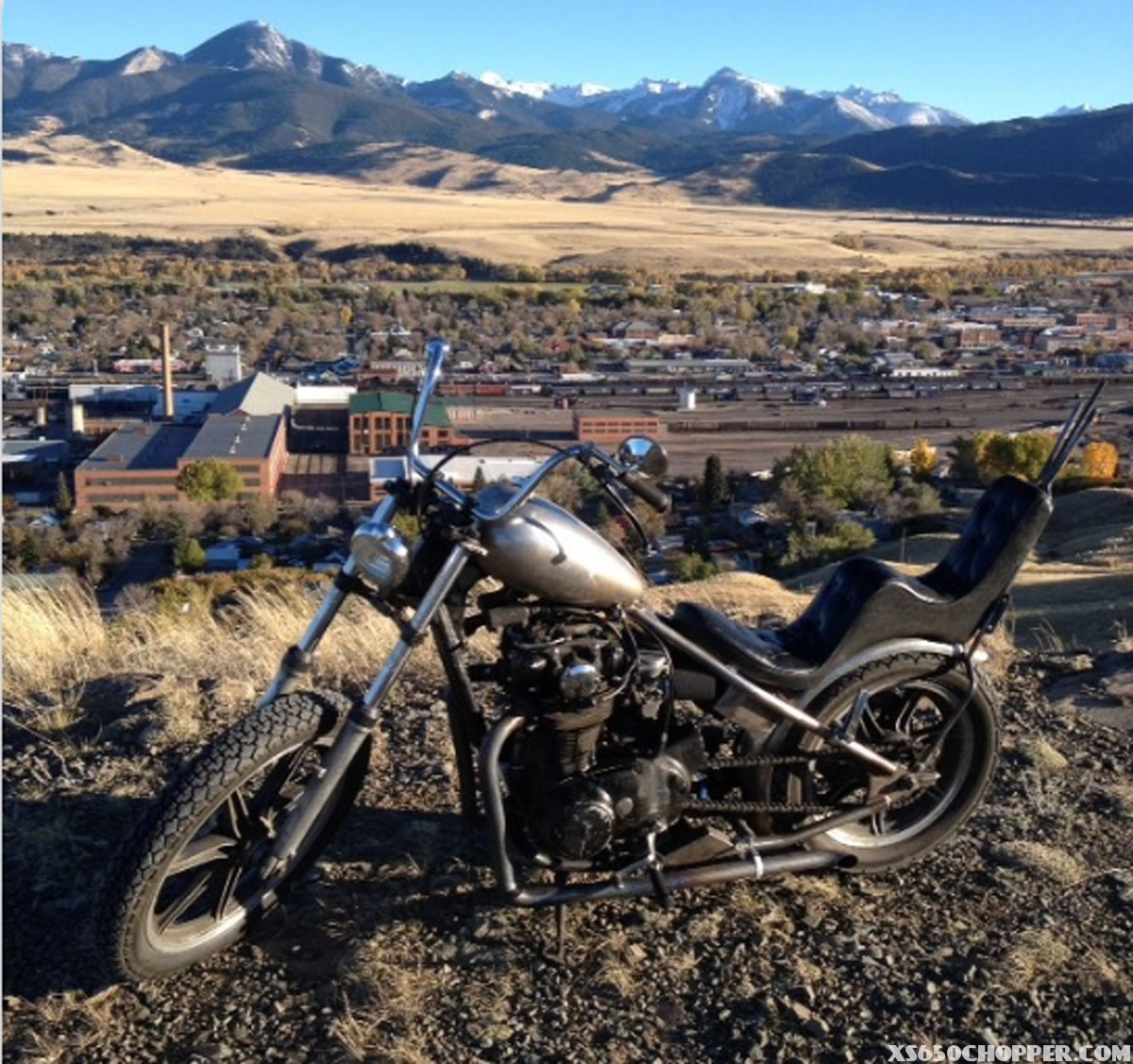 1978 xs650 Factory Metal Works Hardtail